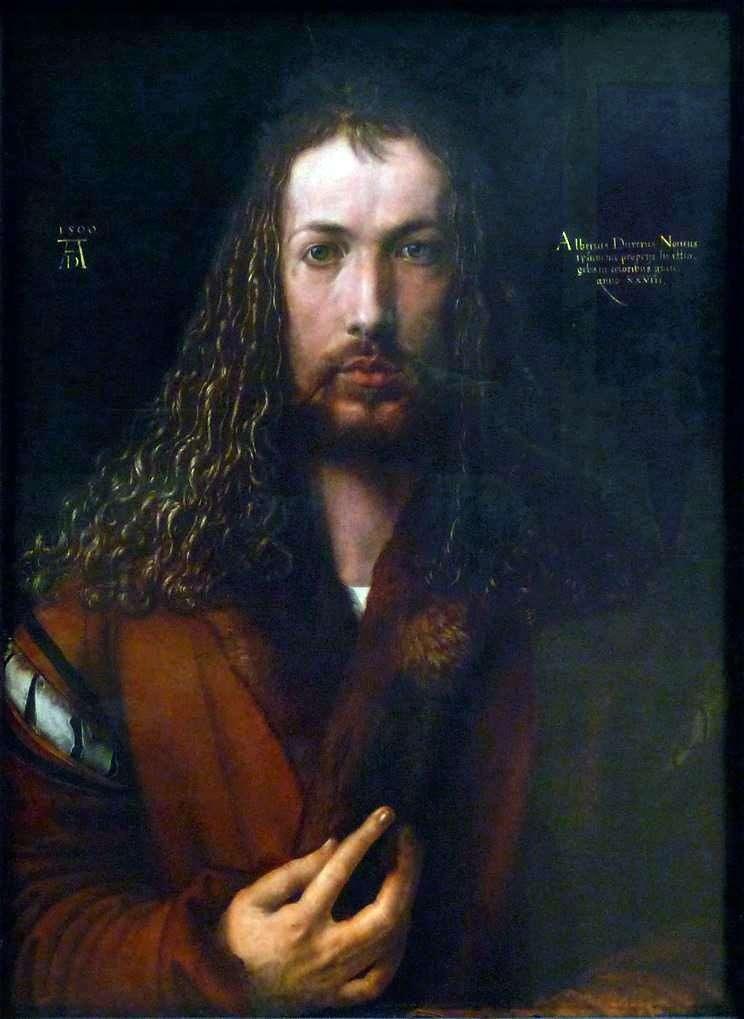 Автопортрет (1500 рік)  Альбрехт Дюрер