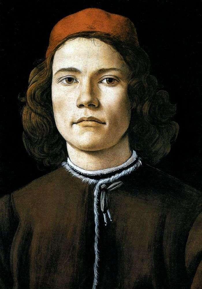 Портрет молодої людини   Сандро Боттічеллі