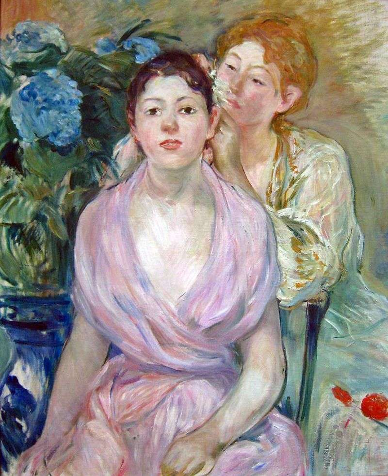 Гортензія (Дві сестри)   Берта Морізо