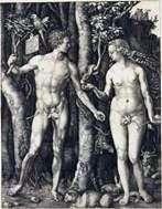 Адам і Єва (суміщені)   Альбрехт Дюрер