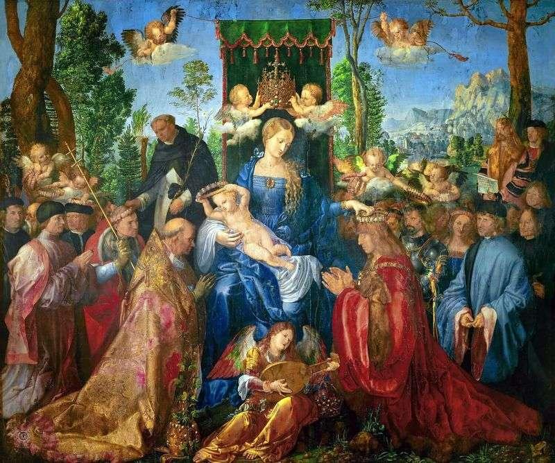 Вівтар Свято чоток   Альбрехт Дюрер