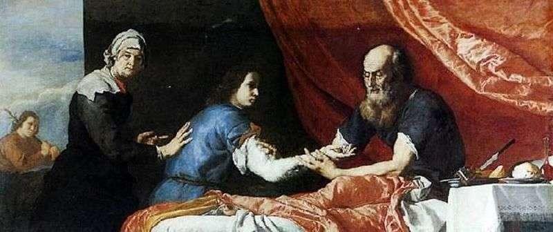 Ісаак благословляє Якова   Хусепе Рібера