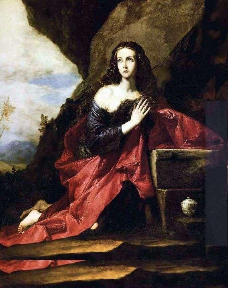 Каяття Марія Магдалина   Хусепе де Рібера