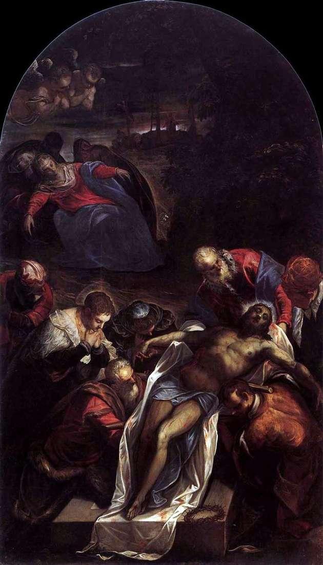 Поховання   Якопо Тінторетто