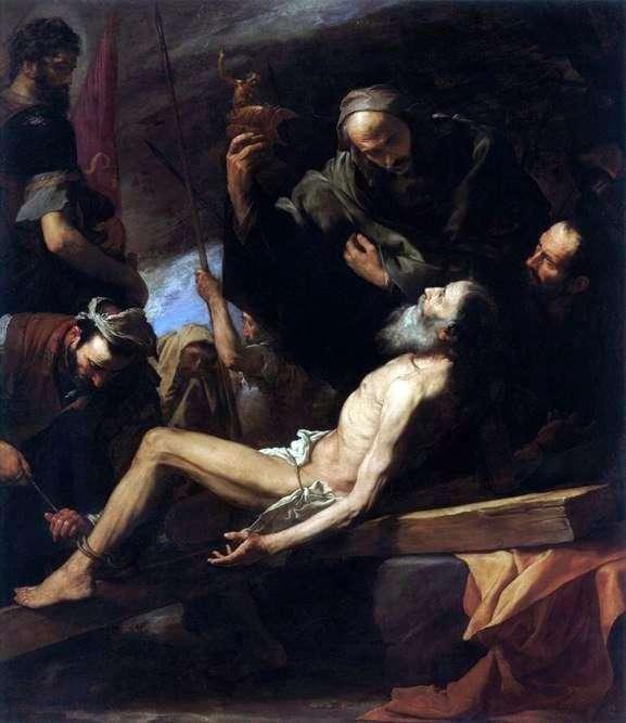 Мучеництво апостола Андрія   Хусепе де Рібера