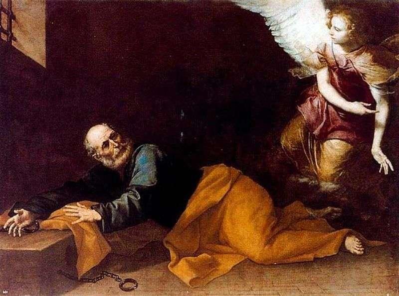 Звільнення апостола Петра з темниці   Хусепе де Рібера