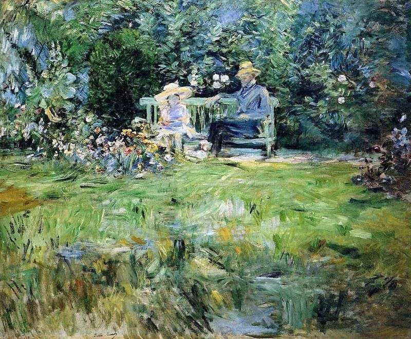 Урок в саду   Берта Морізо