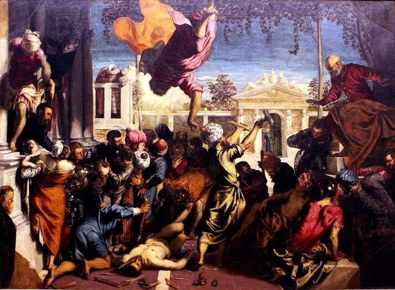 Св. Марк звільняє раба   Якопо Тінторетто