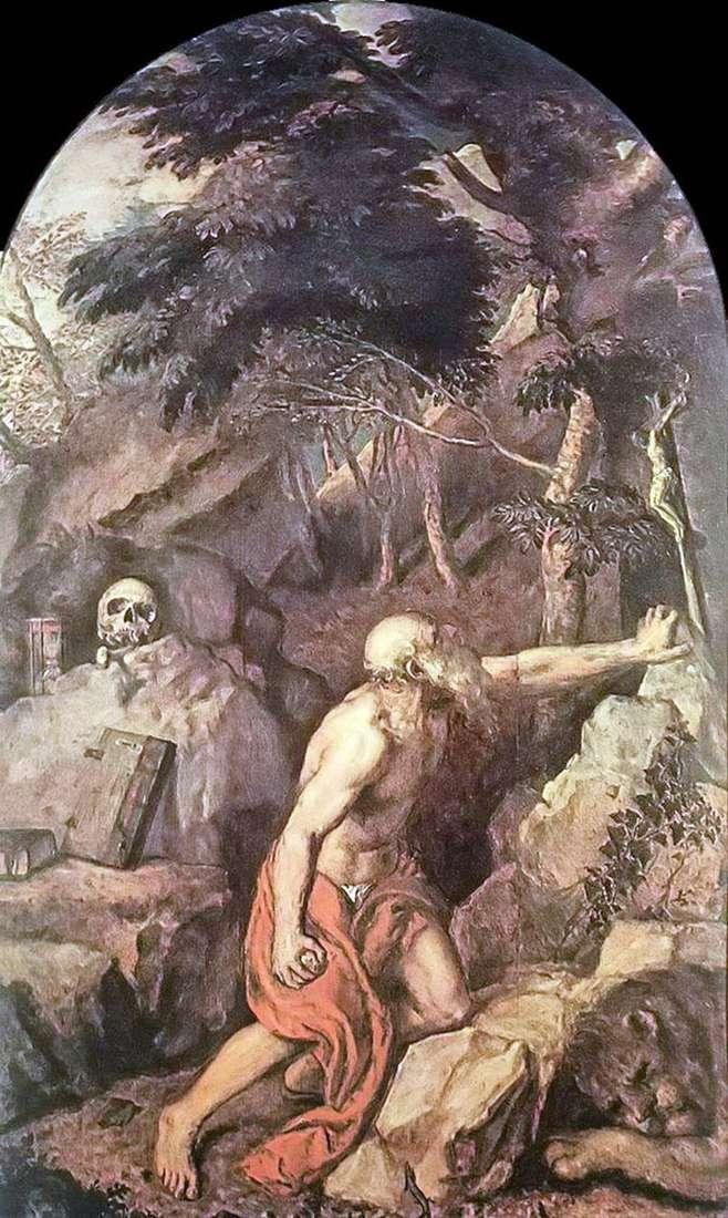 Святий Ієронім   Тіціан Вечелліо