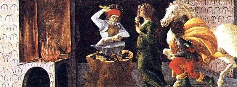 Чудо Святого Элигия   Сандро Боттічеллі
