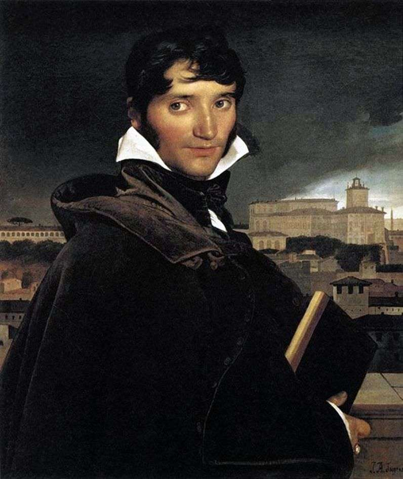 Портрет художника Франсуа Маріуса Грані   Жан Огюст Домінік Енгр