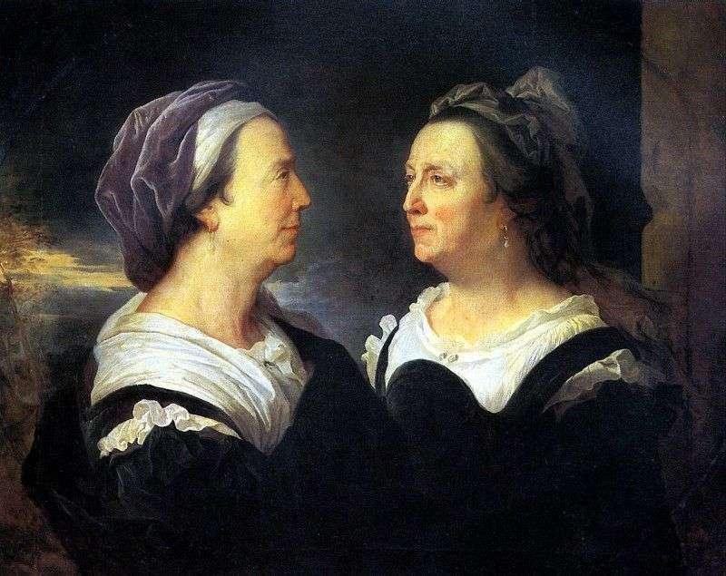 Мадам Ріго, мати художника, у двох портретах   Гіацинт Ріго