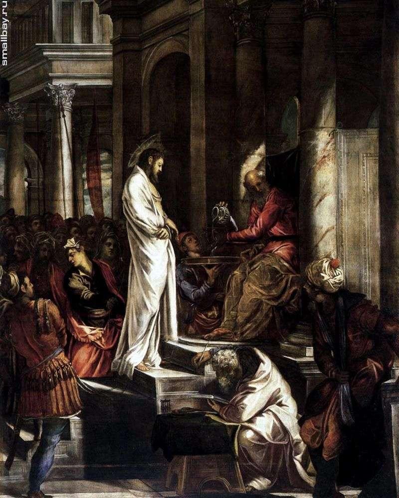 Христос перед Пілатом   Якопо Тінторетто