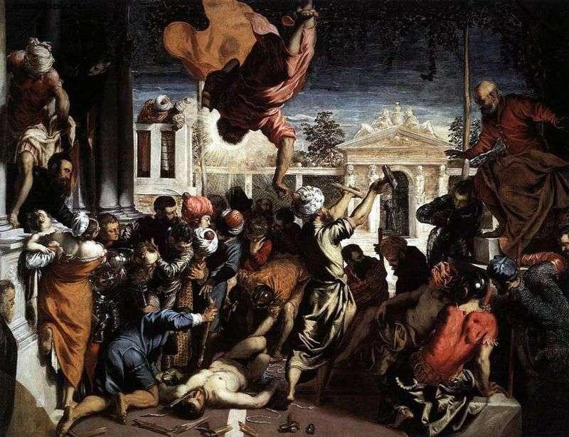 Чудо Святого Марка   Якопо Тінторетто