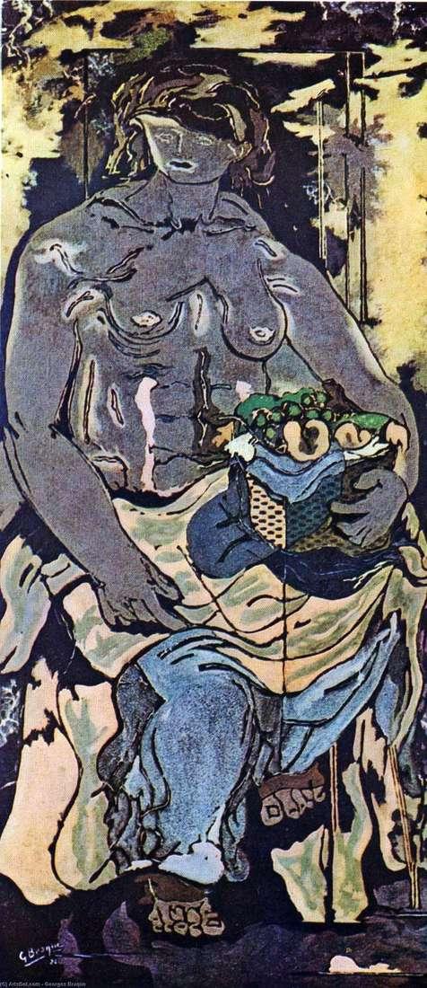 Оголена жінка з кошиком фруктів   Жорж Брак