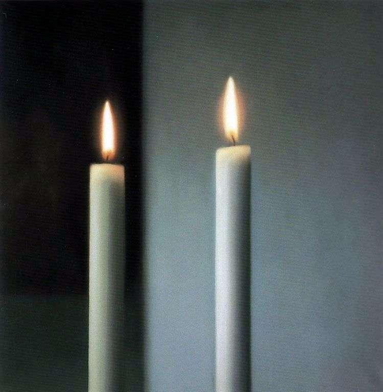 Дві свічки   Герхард Ріхтер