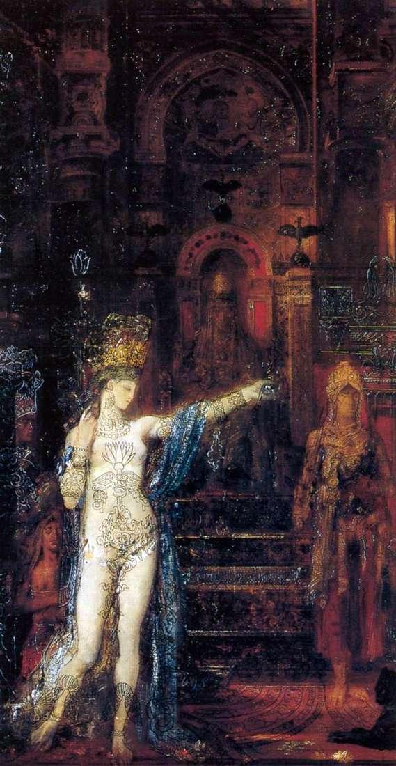 Соломія, танцює перед Іродом   Гюстав Моро
