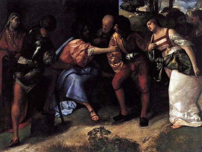 Христос і невірна дружина   Тіціан Вечелліо