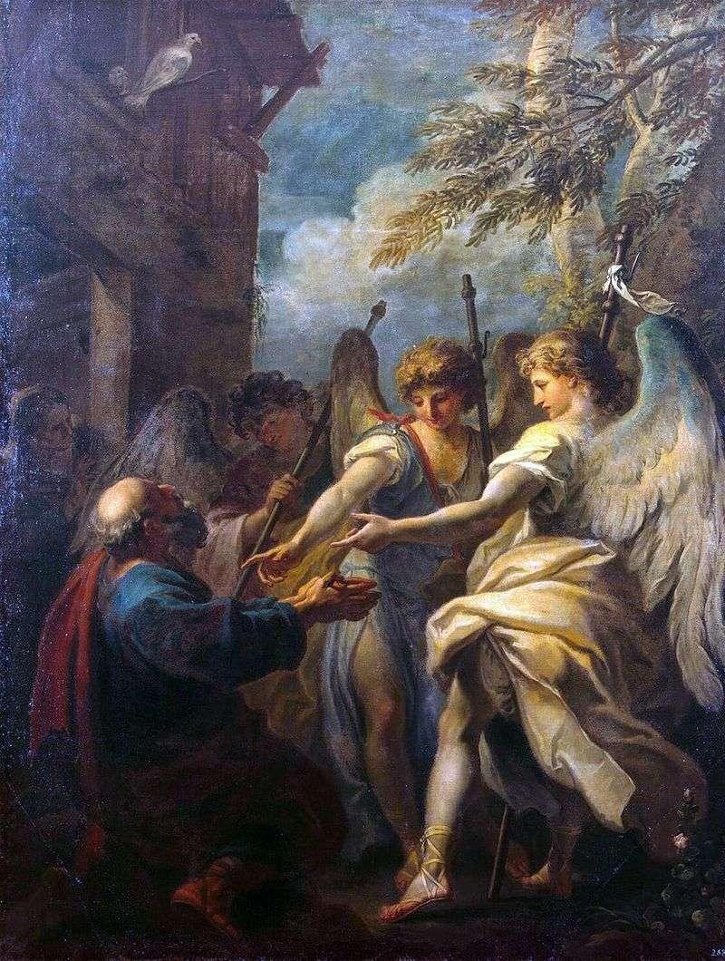 Авраам і три ангела   Себастьяно Річчі