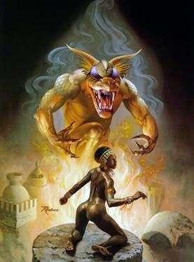 Явище демона   Ровена Моррилл