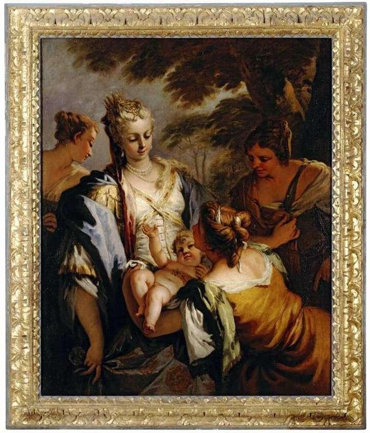 Вручення немовляти Мойсея   Себастьяно Річчі