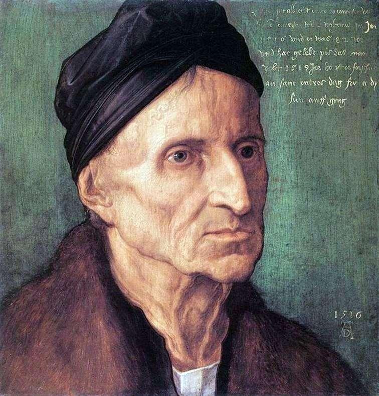 Портрет Міхаеля Вольгемута   Альбрехт Дюрер