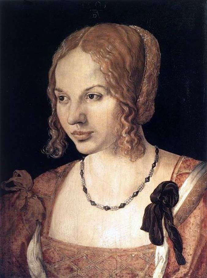 Портрет молодої венеціанки   Альбрехт Дюрер