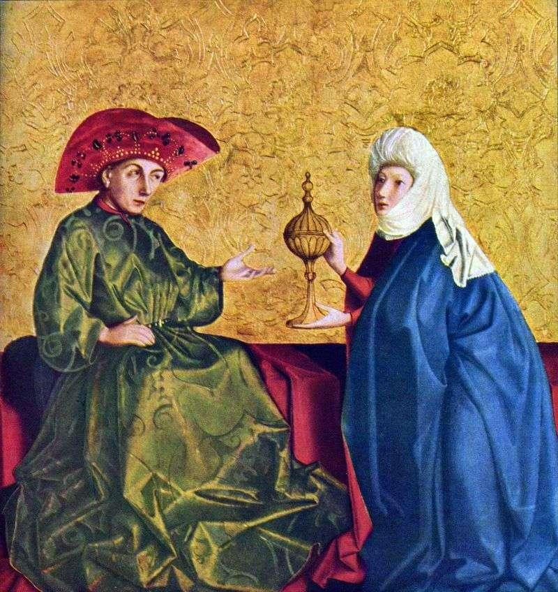 Цар Соломон і цариця Шеви   Конрад Віц