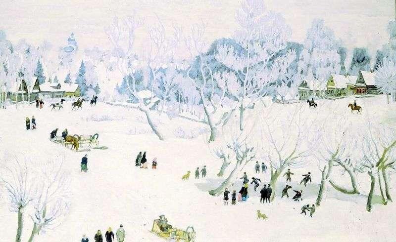 Чарівниця зима   Костянтин Юон