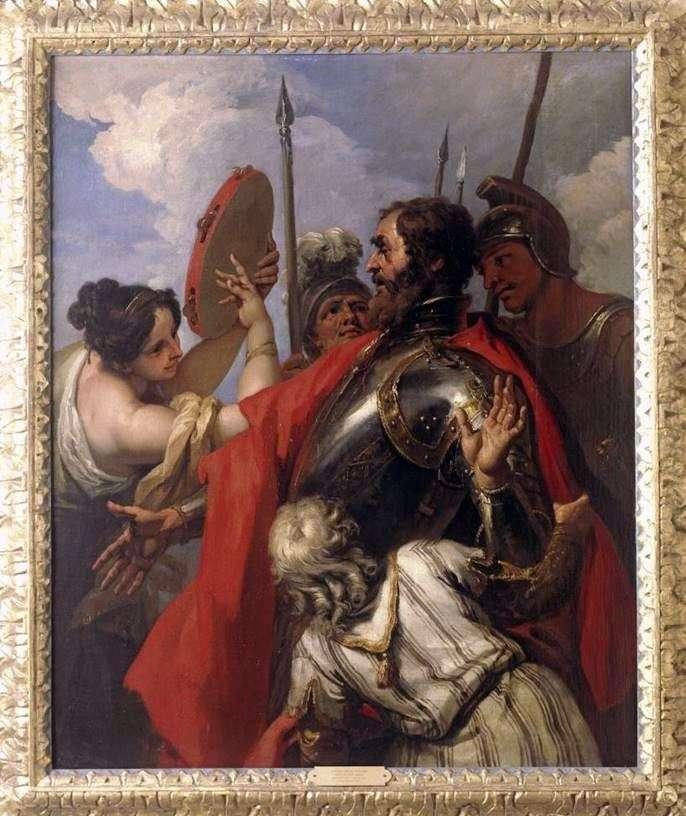 Їфтах і його дочка   Себастьяно Річчі