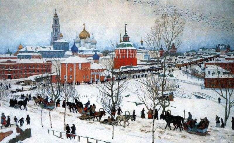 Зима. Ростов Великий   Костянтин Юон
