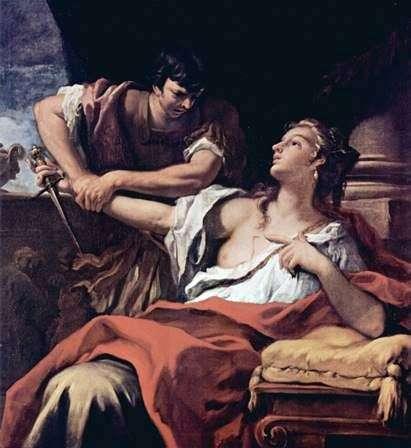 Лукреція і Коллатин   Себастьяно Річчі