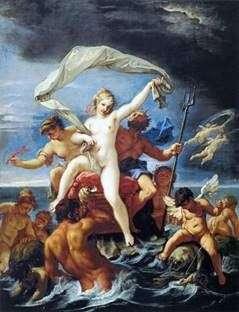 Нептун і Амфітріта   Себастьяно Річчі