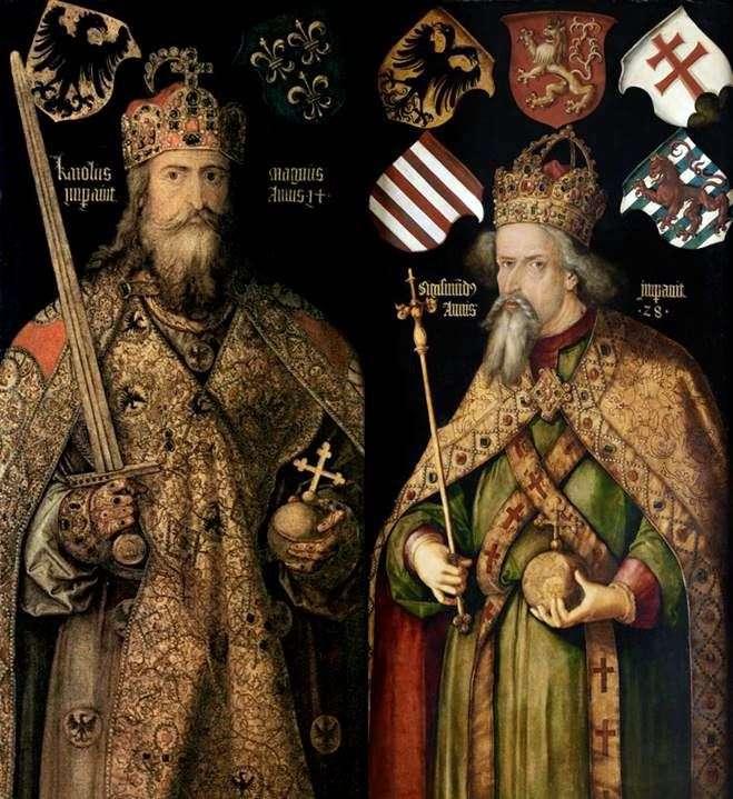 Портрети імператорів Карла і Сигізмунда   Альбрехт Дюрер
