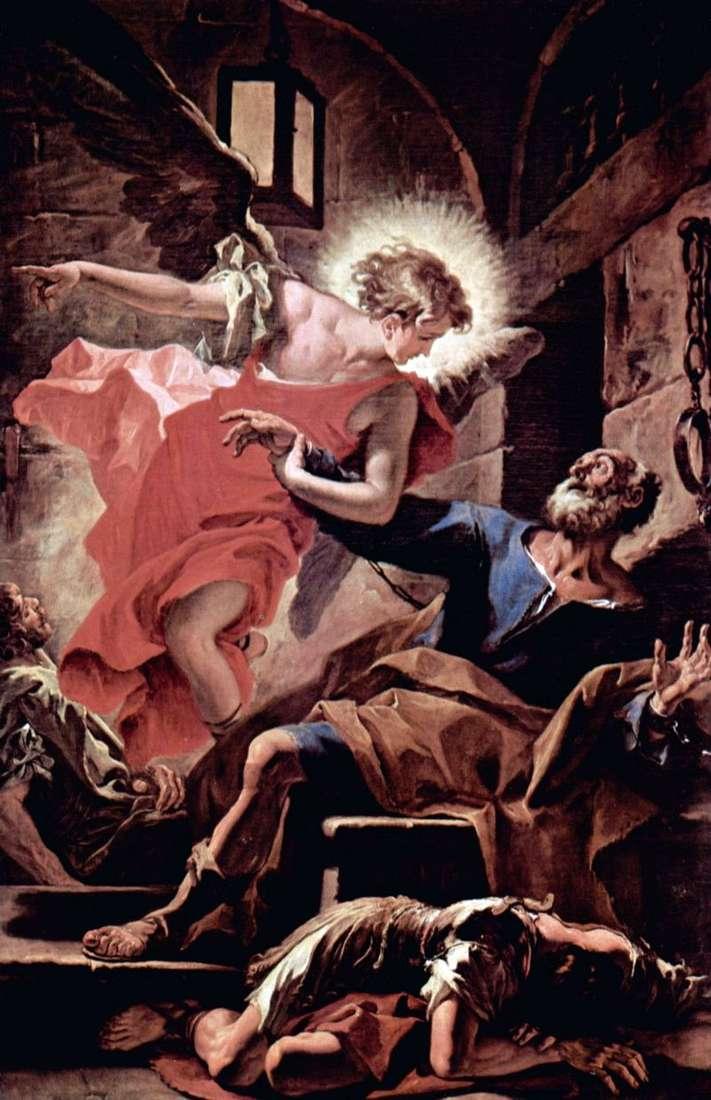 Звільнення апостола Петра ангелом   Себастьяно Річчі