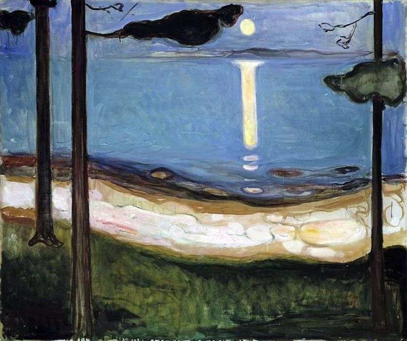 Місячне світло   Едвард Мунк