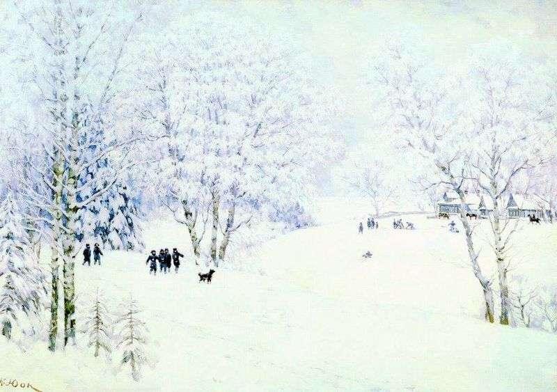 Російська зима. Лигачево   Костянтин Юон