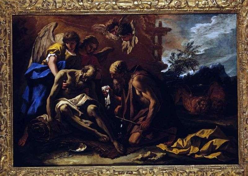 Смерть апостола Павла   Себастьяно Річчі