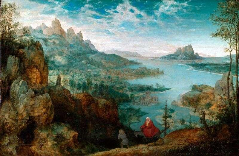 На шляху в Єгипет   Пітер Брейгель