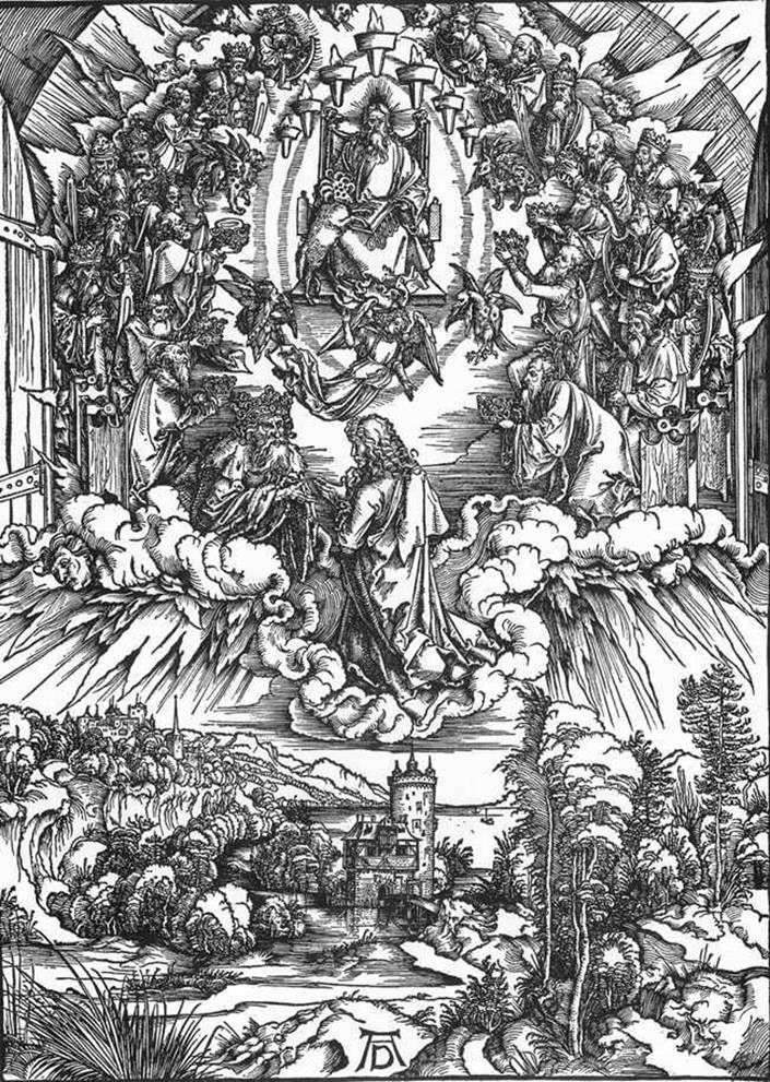 Святий Іоанн і двадцять чотири старці   Альбрехт Дюрер