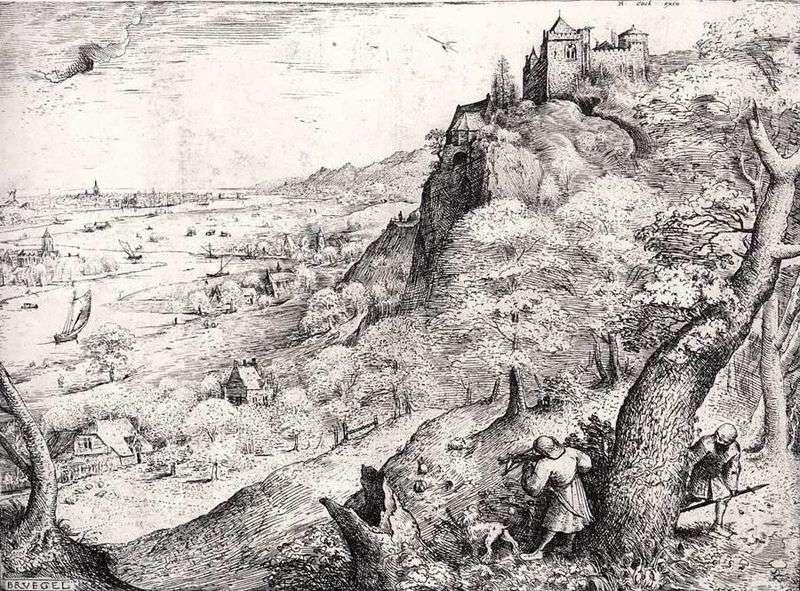 Полювання на зайця   Пітер Брейгель
