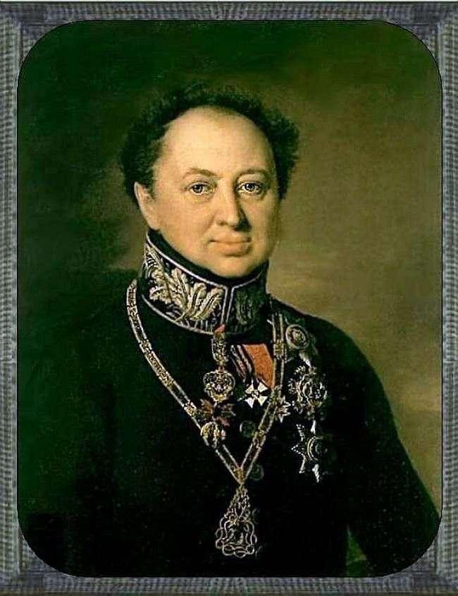 Портрет Д. П. Татіщева   Василь Тропінін