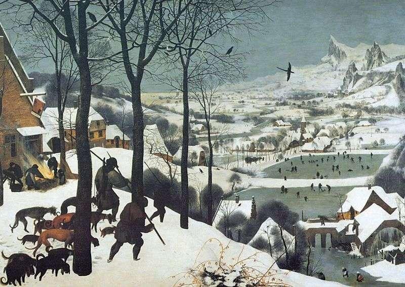 Мисливці на снігу   Пітер Брейгель