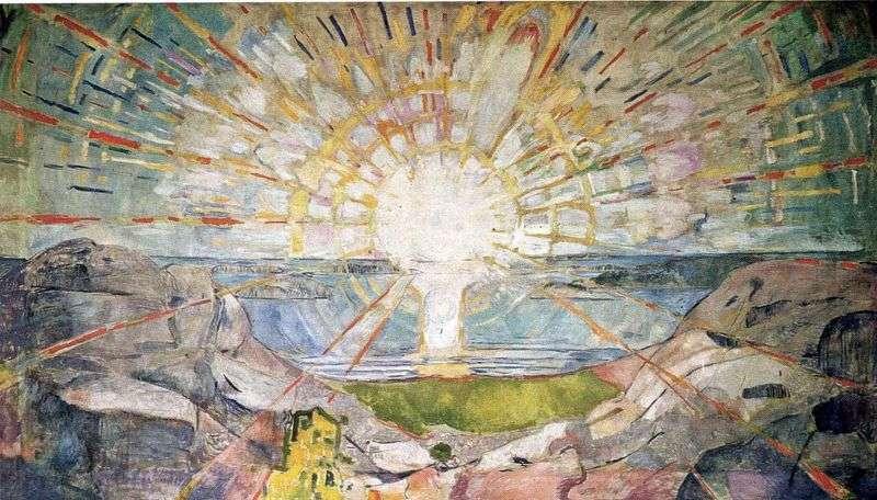 Сонце   Едвард Мунк