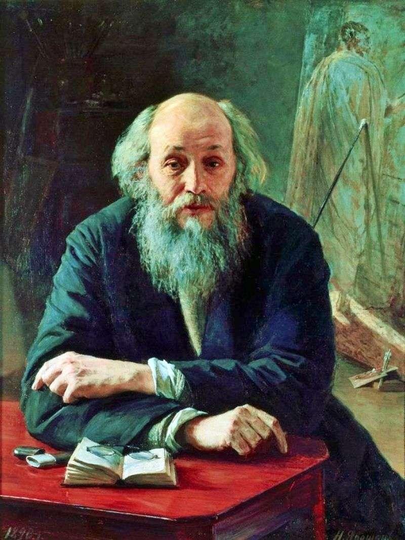 Портрет художника Ге   Микола Ярошенко