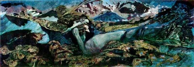Демон повержений   Михайло Врубель