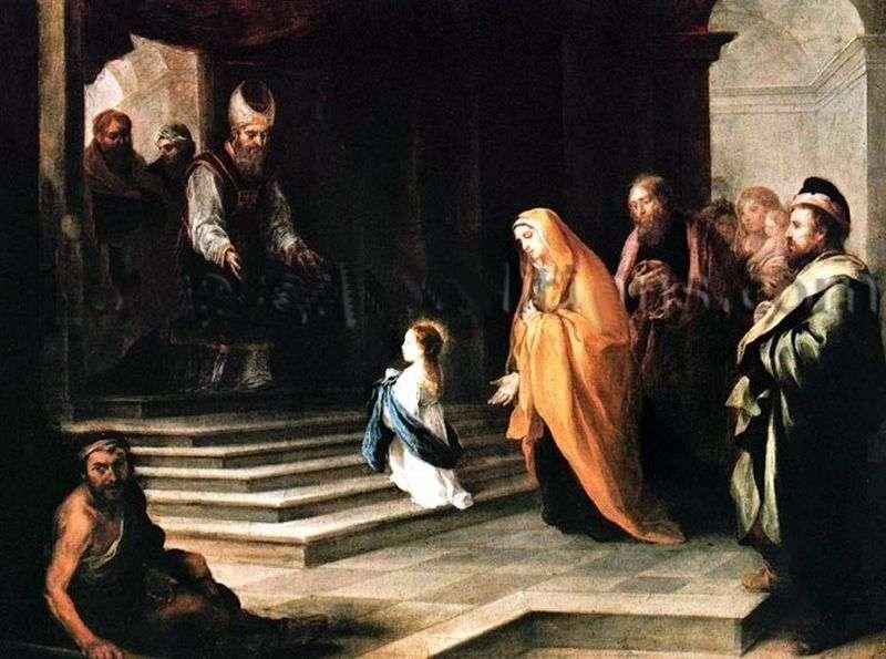 Введення Діви Марії в храм   Бартоломео Естебан Мурільйо