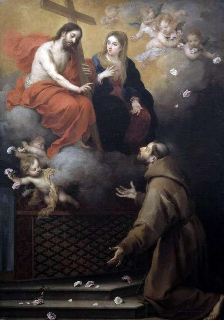 Видіння Св. Франциску   Бартоломео Естебан Мурільйо