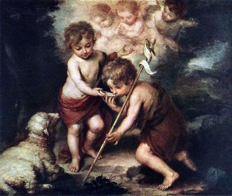 Діти з овечкою   Бартоломео Естебан Мурільйо