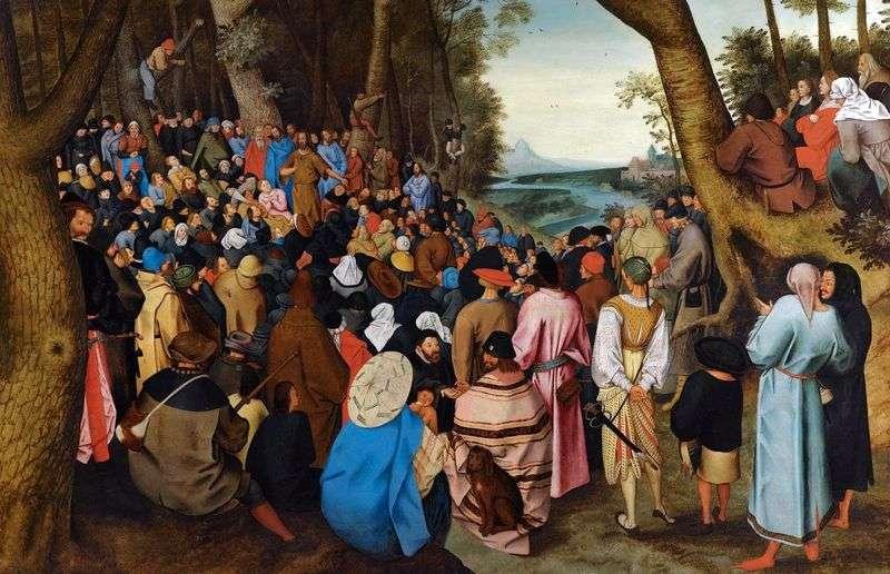 Проповідь Іоанна хрестителя   Пітер Брейгель